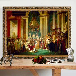 Väggplatta The Coronation of Napoleon