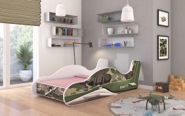 Children bed Plane Moro-140x70cm