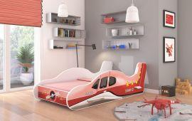 Barnsäng Plane Röd