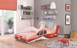 Children bed Plane Red-140x70cm