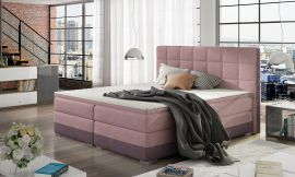 Boxspring bed Hillary -light pink-160x200cm
