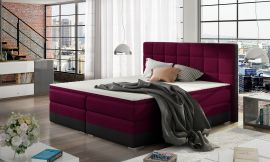 Boxspring bed Hillary -pink-160x200cm