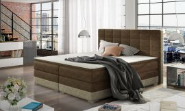 Boxspring bed Hillary -brown-160x200cm