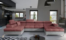 Corner sofa Foster-pink-right