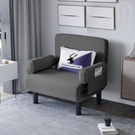 Foldable Bed Elton-grey