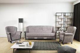 Sofa set Elfrida 3+1+1-light brown