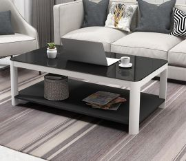 Coffee Table Ethan-black-white