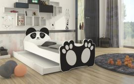 Children bed Bear-black-140x70cm
