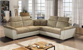 Corner sofa bed Gideon-light brown