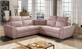 Corner sofa bed Gideon-light pink