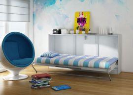 Murphy bed Franny 90x200cm-white