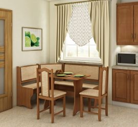 Dinning table set Frida 6 person-wood