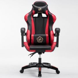 Game chair Fursona-black-red