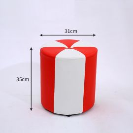 Pouf Gelina-red