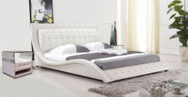 Bed Glendale Lux 160-180-160x200cm-white