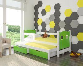 Children bed Portia -green