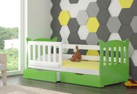 Children bed Kristoff -green