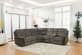 Electric Recliner Corner Sofa Boda-grey