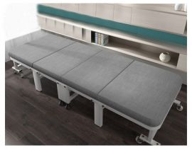 Foldable Bed Homer-grey