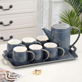 Tea Set Honey, 8pcs-grey