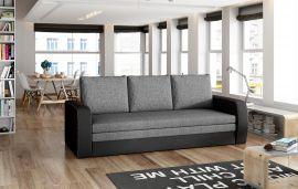 Sofa bed Lilac-black-grey