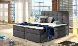 Boxspring bed Melinda -grey-160x200cm