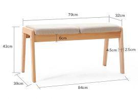 Bench Jethro-wood