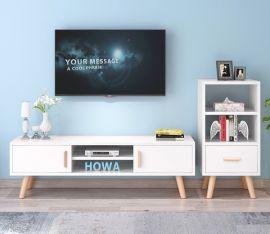 TV stand Keanu-white