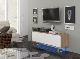 TV-set Foxtail-oak-white