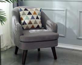 Armchair Kingsley-grey