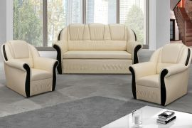 Sofa set 3+1+1 Anika-beige