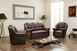 Sofa set 3+1+1 Anika-brown