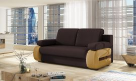 Sofa bed Olive-dark brown