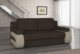 Sofa bed Olive-brown