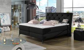 Boxspring bed Trudy -black-160x200cm