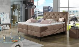 Boxspring bed Trudy -beige-160x200cm