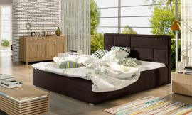 Bed Baxter dark brown-160x200cm