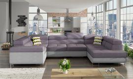 Corner sofa bed Inigo-purple-right