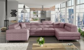 Corner sofa bed Inigo-pink-right