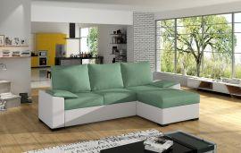 Corner sofa bed Jason-light green