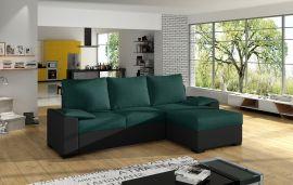 Corner sofa bed Jason-green