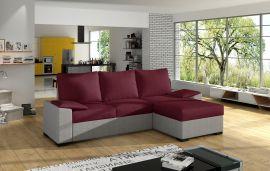 Corner sofa bed Jason-red