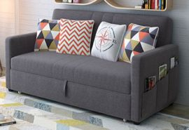 Sofa bed Lysette-grey