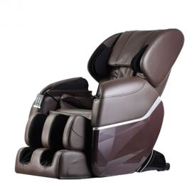Massage chair Shiatsu Lux with zero gravity and heating-brown
