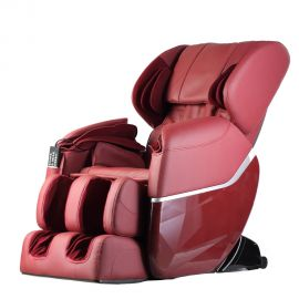 Massage chair Shiatsu Lux with zero gravity and heating-red