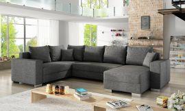 Corner sofa bed Kellan-grey-right