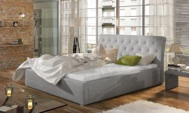 Bed Carlisle light grey-160x200cm