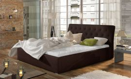 Bed Carlisle dark brown-160x200cm