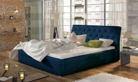 Bed Carlisle dark blue-160x200cm
