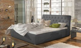 Bed Carlisle dark-grey-160x200cm